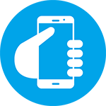 Mobiltelefoni symbol